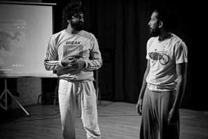 Contact Improvisation aka Contact Improv Dance Classes in Bangalore Indiranagar at FLUX