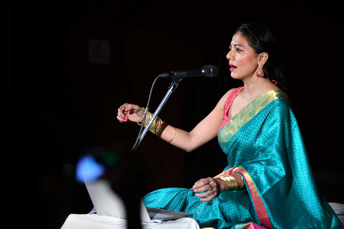 Events in Bangalore at FLUX: Music Performance by Nimisha Shankar - Chakra Harmonizing Ragas