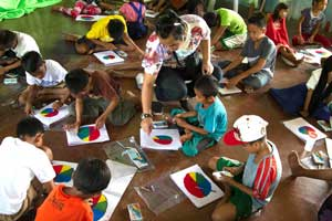 Art Therapy in Bangalore Indiranagar in the Wellness Centre at FLUX