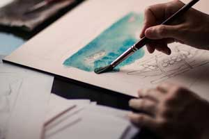 Painting Classes in Bangalore Indiranagar at FLUX
