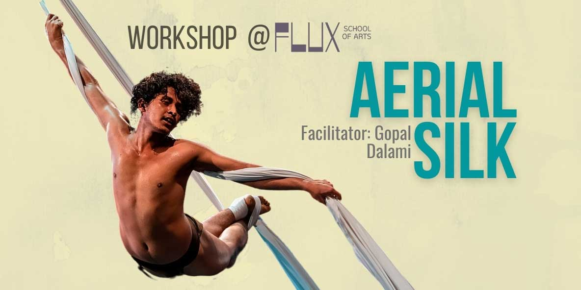 Body Movement Workshop in Bangalore at FLUX: Aerial Silk Yoga