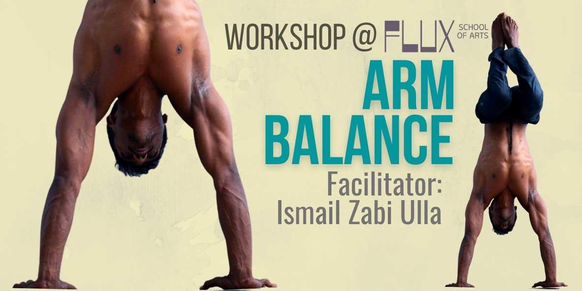 Body Movement Workshop in Bangalore at FLUX: Arm Balance Yoga Poses